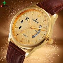 Relojes Hombre 2017 Mens Watches Top Brand Luxury Gold Watch Male Fashion Wrist Watch Men Waterproof Bussiness Quartz Watch Men