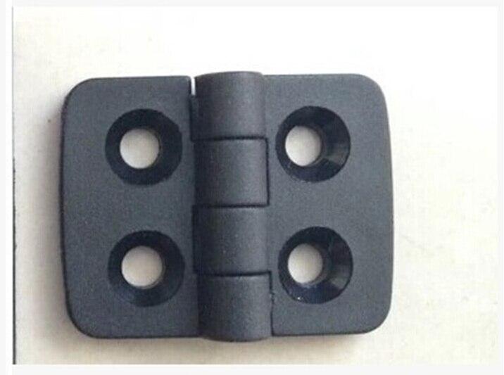 10PCS/set ABS the nylon plastic hinge 40 * 30 black hinges large spot free shipping