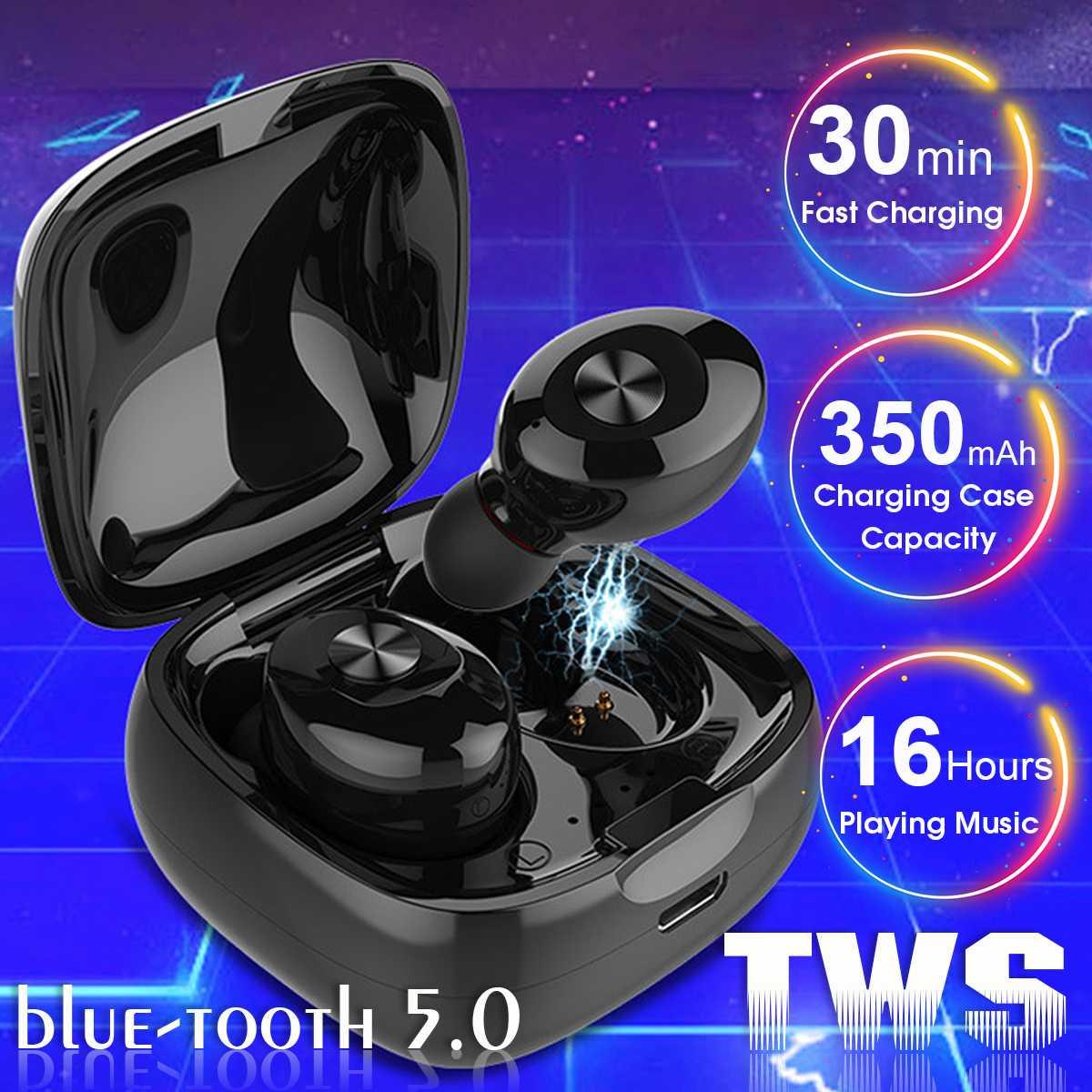 TWS bluetooth 5,0 наушники XG12 беспроводной наушник стерео HIFI Звук спортивные наушники Handsfree USB игровая гарнитура с микрофоном