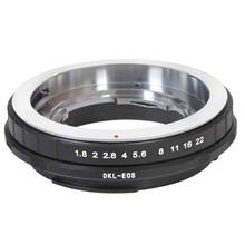 Foleto DKL อะแดปเตอร์แหวน DKL AI PK MA สำหรับ Retina DKL Voigtlander Deckel Lens to Canon EOS Nikon Sony Pentax mount กล้อง 5d d3 K7