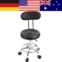 Salon Hairdressing Styling Barber Chair Massage Beauty Tattoo Studio Makeup Chair Adjustable Height Range 74 - 87cm Barbershop	(China)