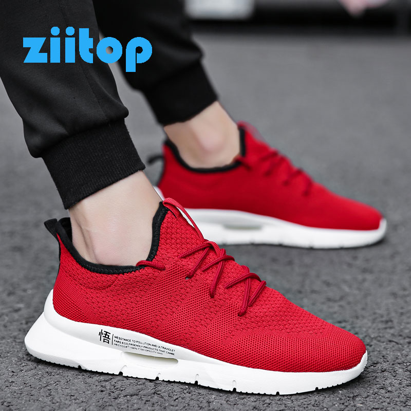 Hot Sale Running Shoes Men Lace-up Men Athletic Trainers Sports Male Shoes Breathable Outdoor Sneakers Men Zapatillas De Hombre