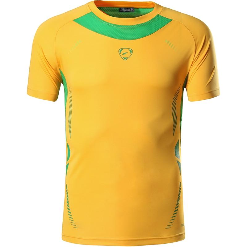 Нові прибуття 2019 чоловіки Дизайнерські футболки Повсякденні Швидко сухий Slim Fit Сорочки Топи і Трійці Розмір S M L XL LSL3225 (ВИБЕРІТЬ РАЗОМ США)