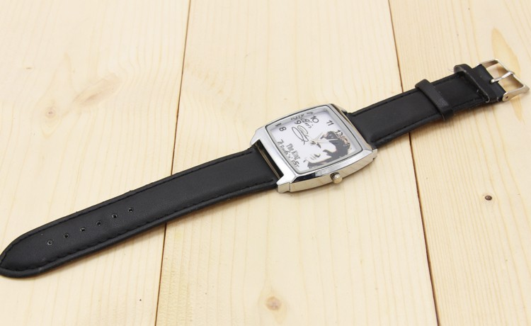 2017 w nowym stylu Mody Chłopcy i dziewczęta Elvis Presley pasek zegarka zegarek prezent 6