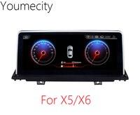 Youmecity 10.2 pollice GPS del DVD Dell'automobile per BMW X5 E70 2007-2013/BMW X6 E71 2007-2014 radio video player Android 4.4 Wifi touch Screen