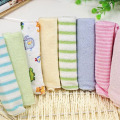 100% Brand New 8 Pieces 22.9*22.9cm Thin Baby Kids Children Bath Towel Handkerchief Random Color