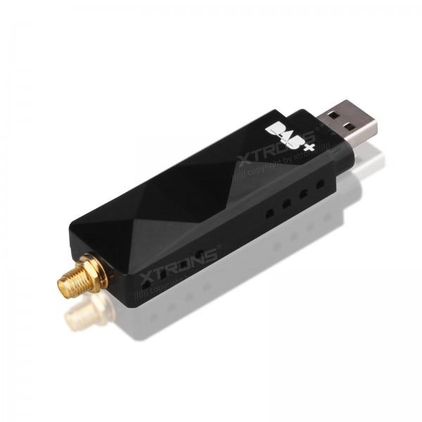imágenes para USBDAB01 USB 2.0 Digital DAB + Sintonizador de Radio Antena Del Receptor CAJA de Palo Sólo Para Nuestro Android Radios de los Coches