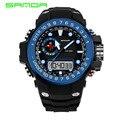 SANDA Sport Watch Men 2016 Clock Male LED Digital Quartz WristWatches Men's Top Brand Luxury Digital-watch Relogio Masculino