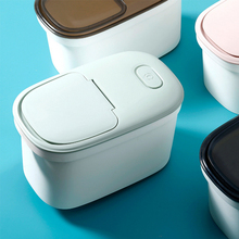 Household Rice Storage Container Plastic Sealed Food Storage Box PP Sealed Insect-Proof Moisture-proof Rice-Bean Storage Box D25