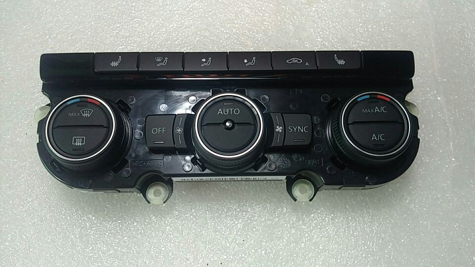 for VW CC passat B7L new jetta automatic air conditioning panel with automatic cycle 35D 907