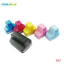einkshop 363 Compatible Ink Cartridge Replacement For HP for Photosmart C5180 C6180 C7180 C7280 C8180 3310 Printer