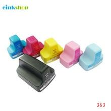 einkshop 363 Compatible Ink Cartridge Replacement For HP 363 for Photosmart C5180 C6180 C7180 C7280 C8180 3310 Printer 12 xl ink compatible for 363 ink photosmart c5180 c6180 c7180 c7280 c8180 3310 printers
