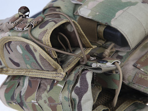Image 5 - Emersongear LBT6094A Style Tactical Vest With 3 Pouches Airsoft Military Combat Vest AT FG EM7440G