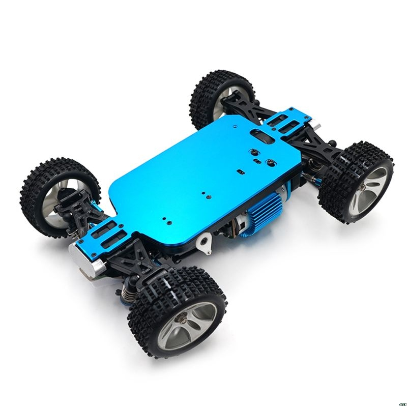 1/18 RC Car Blue 4WD Car Chassis Carbon Fiber Parts Chassis For WLtoys A949 A959-B A969 A979 K929 RC Car Accessories