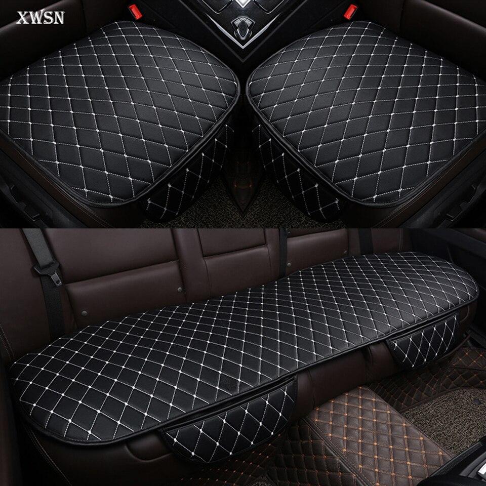 Coussin de voiture universel en cuir PU pour mercedes w204 w211 w210 w124 w212 w202 w245 w163 cla gls housse de siège de voiture accessoires de voiture