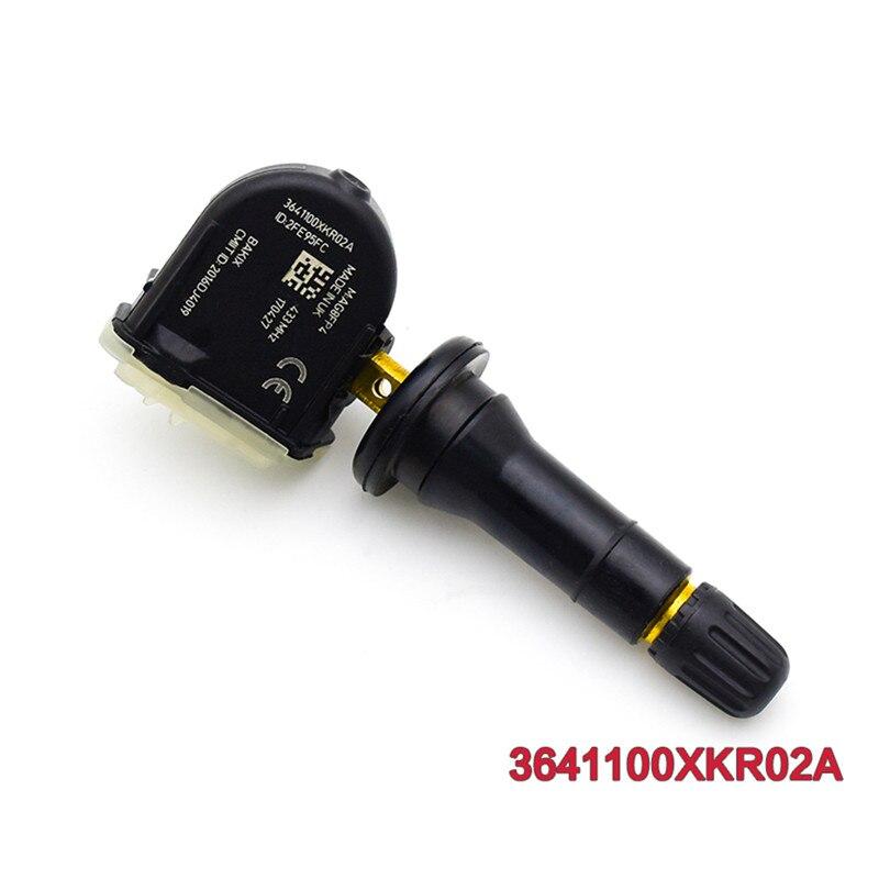 433 mhz sensor de pressão dos pneus tpms para 2019 great wall haval f7 h6 wey vv5 vv6 vv7 3641100xkr02a
