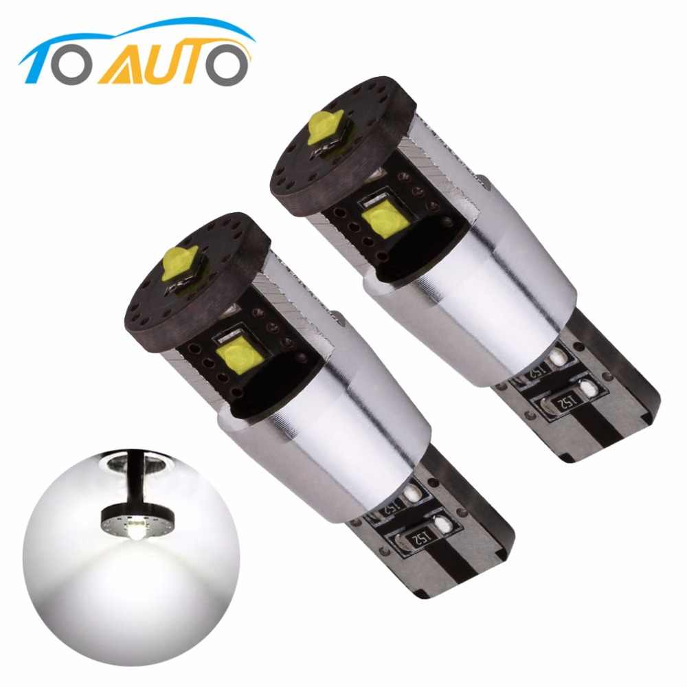 2pcs 15W NEW Canbus led chips 194/501 W5W led high power,168 canbus car light t10 canbus car light source