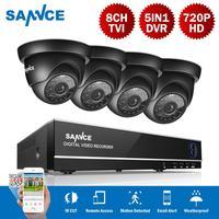 SANNCE 4CH безопасности камера системы дома товары теле и видеонаблюдения комплект 1080 P HDMI выход DVR 720 комплект видеорегистратора скрытого наблю