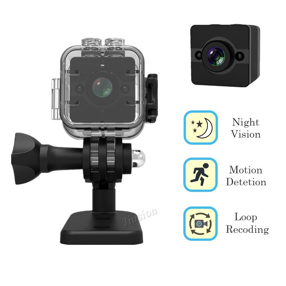 Mini Caméra 1080 P Full HD avec Boîtier Étanche Night Vision Motion Detection Petit Vidéo Extérieur Sport Caméscope D'origine SQ12