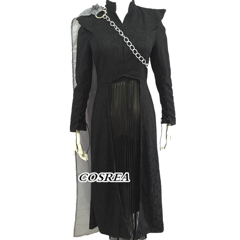 Halloween  Daenerys Targaryen cosplay costume custom made Dress suit Cosplay Game of Thrones Season 7 costume Fancy women dress