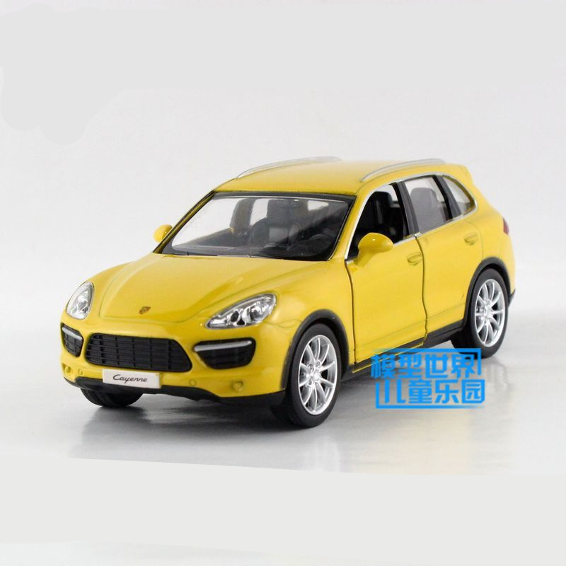 Rmzcity 1:36 Scale Car Model Toy/cayenne Sport Suv/diecast Metal Pull Back/gift For Children/collection/doors Openable Fine Craftsmanship Diecasts & Toy Vehicles