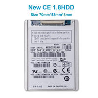 NEW 1 8 HDD CE ZIF 80GB MK8009GAH HARD DISK DRIVE FOR D430 D420 Xt1