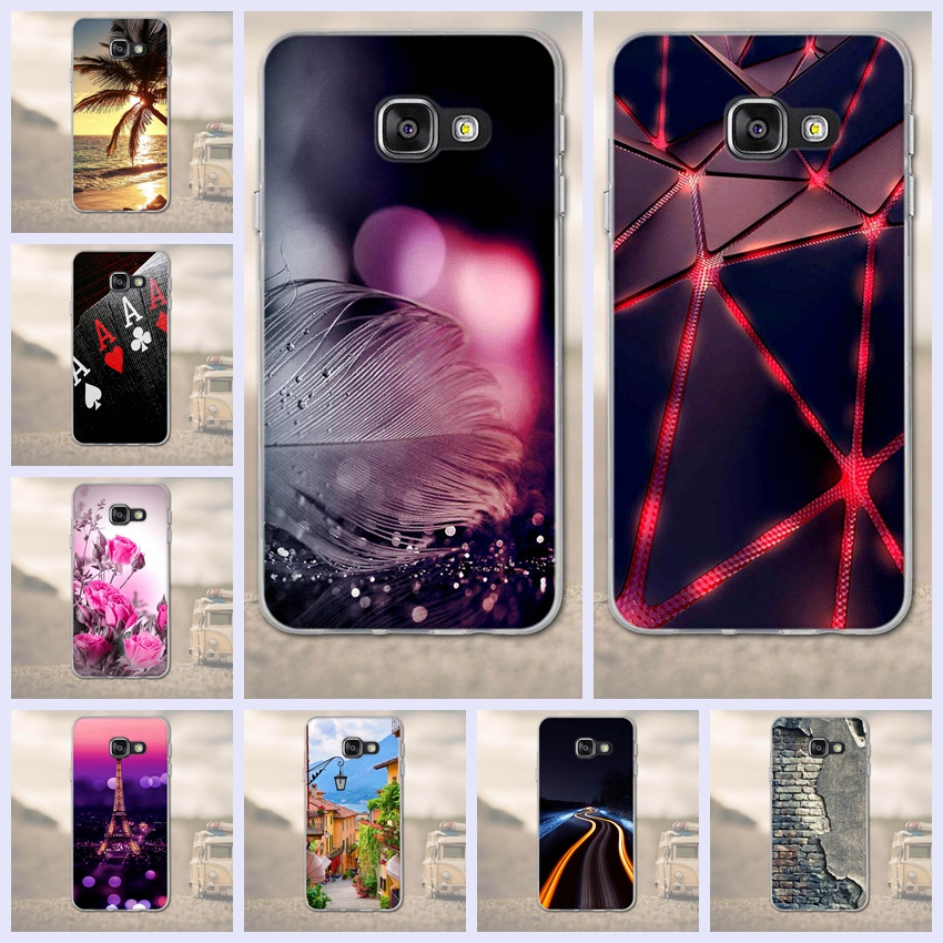 Phone Cases for Samsung Galaxy A3 2016 A310F Case Back Cover for Coque Galaxy A3 2016 A310F A310 4.7 inch Cover 3D TPU Soft Case