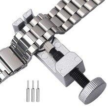 купить Hand Tools Screwdriver Adjustable Watch Band  For Clock Precision Instrument Bracelet Link Pin Remover Repair Tool по цене 152.45 рублей