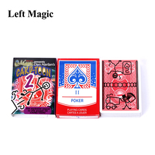 цена Magic Cartoon Cardtoon Deck Magic Tricks Pack Playing Card Toon Animation Prediction Funny Magic Magic Props Gimmick G8029 онлайн в 2017 году