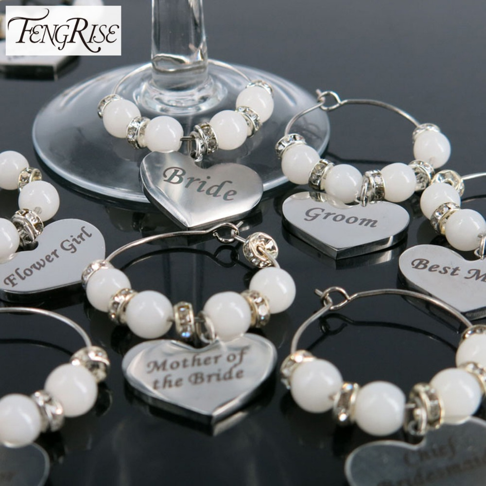 FENGRISE Luxurious Wedding Decoration Table Goblet Champagne Wine Glass Charms <font><b>Cup</b></font> Centerpieces Accessories <font><b>Party</b></font> Supplies