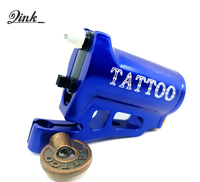 QINK Shader Liner New Rotary Tattoo Machine Hollow Cup Motor Premium Tattoo Gun CNC Ultra Quiet Professional Frame Wholesale