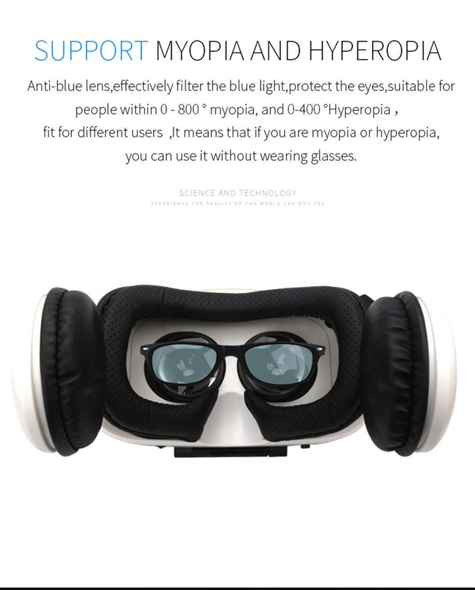 4b870c1eee4 BOBOVR Z4 Helmet Headphone VR Headset VR Box Glasses Headset Virtual ...