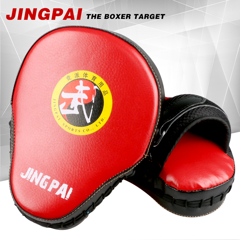 2pcs/lot Muay Thai MMA Boxing Gloves Sandbag Punch Pads Hand Target Focus Training Punching Pad Kick Fighting Circular Mittens