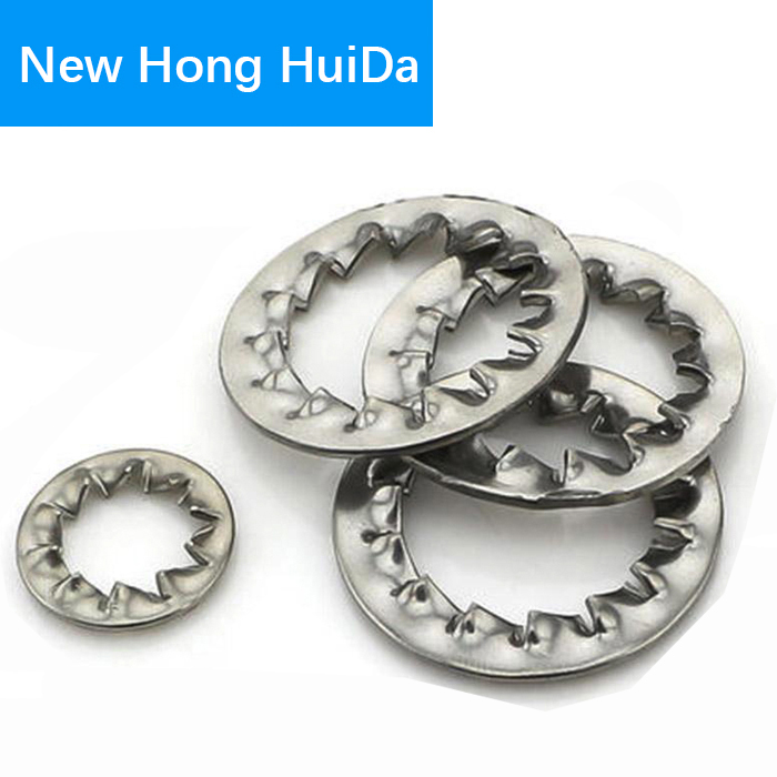 Internal Toothed Gasket Washer M2 M2.5 M3 M4 M5 M6 M8 M10 M12 M14 M16 M20 M22 M24 M30 Serrated Lock Washers 304 Stainless Steel free shipping 304 stainless steel square gasket square washer m3 m4 m5 m6 m8 m10 m12 m14 m16 curtain wall with square washer