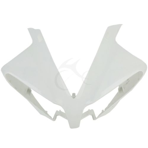 ABS Upper Front Fairing Cowl Nose Cover For Yamaha YZFR1 YZF R1 2012-2014 2013 upper front fairing cowl nose fits for yamaha 2004 2005 2006 yzf r1 injection mold abs plastic