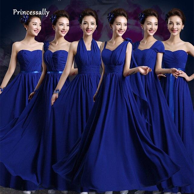 Royal Blue Bridesmaids Dresses