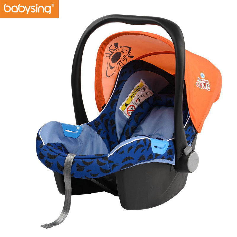 Babysing Portable Baby Outdoor Basket Baby Car Safety Seat Sleeping Basket Portable Baby Stroller Basket Safety Car Seat Cradle babysing baby car safety seat sleeping basket portable newborn baby carrier basket safety car seat cradle for baby 0 12 m