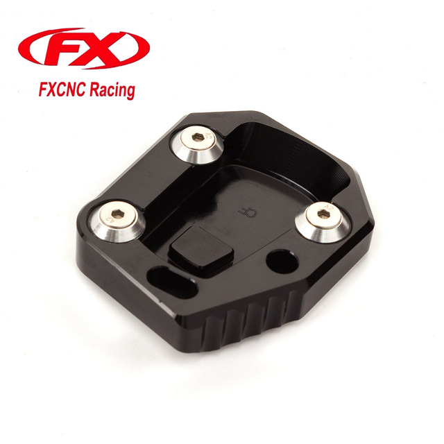 Aluminum Motorcycle Side Stand Plate Kickstand Extension Pad Enlarger For CF CF 650 CF400NK Moto Accessories  sc 1 st  AliExpress.com & Aluminum Motorcycle Side Stand Plate Kickstand Extension Pad ...