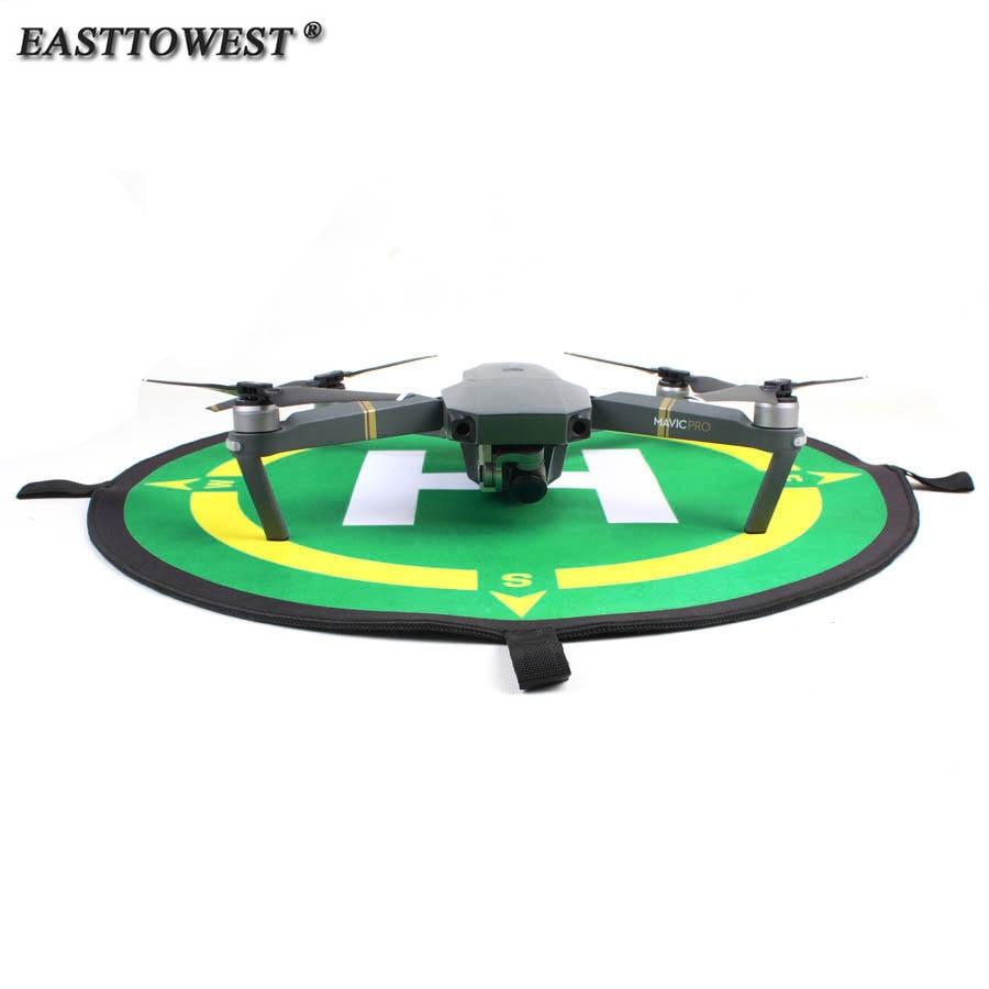 Easttowest Portable Fast-fold 50CM Drone Landing Pad For DJI Mavic Pro Phantom 2 3 4 Drone Quadcopter