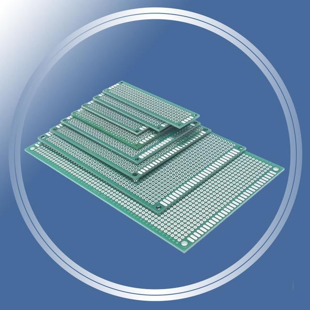 New 9x15 8x12 7x9 6x8 5x7 4x6 3x7 2x8cm Double Side Prototype Diy Universal Printed Circuit PCB Board Protoboard For Arduino