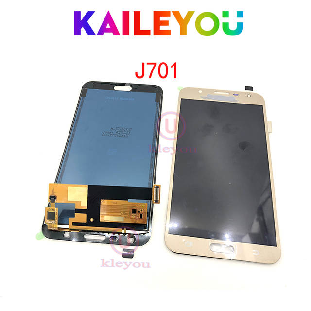US $9 74 |TFT J701 LCD Display for Samsung Galaxy J7 nxt J701F J701M j701  J7 neo J7 core lcd display Screen and Touch Digitizer Assembly-in Mobile