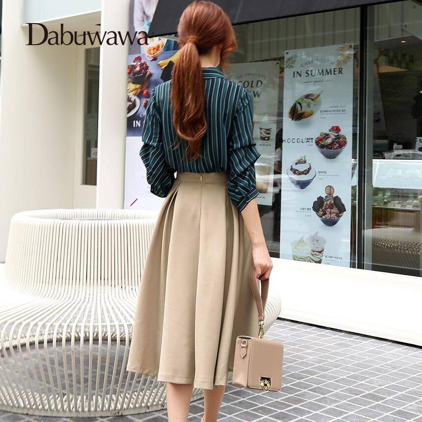 Dabuwawa Frauen Winter Grau Elegante EINE Linie Lange Röcke Herbst Mid-Kalb Hohe Taille Rock Mit Schärpe für Weibliche mädchen