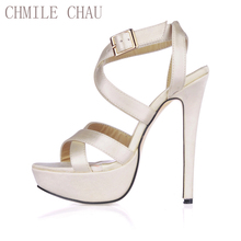 2016 New Sexy Party Shoes Women Stiletto High Heels Ladies Sandals Zapatos Mujer 3463SL-A5 недорго, оригинальная цена