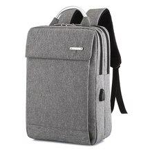 NIBESSER 2019 Fashion Large Business Backpack Men USB Laptop Backpacks School Ba