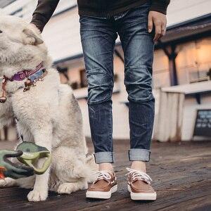 Image 1 - MADEN uomo Slim Skninny Tapered Fit Stretch Lavato Fashion Biker Jeans