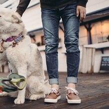 Maden Mannen Slim Skninny Tapered Fit Stretch Gewassen Fashion Biker Jeans