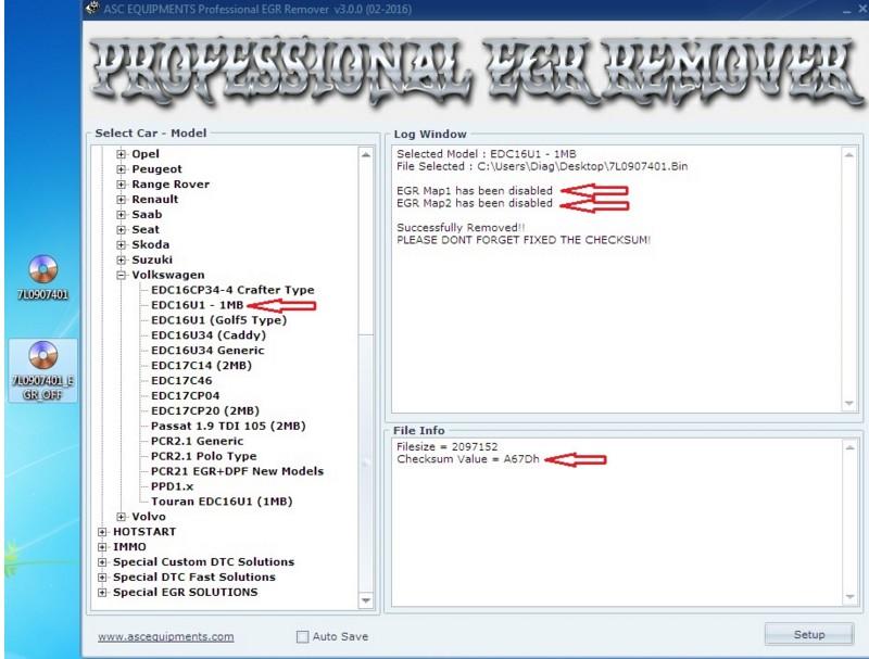 Professional DPF+EGR Remover 3 0 Lambda Hotstart Flap O2 DTC 2+keygen