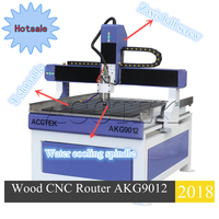 Favorable comment 1.5Kw 2,2kw 4 axis optional 6090 9012 wood cnc router milling and carving machine made in China
