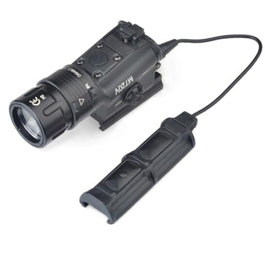 Hunting Airsoft SF M720V Weapon Light Strobe Version Switching Quick Detachable LED Weapon Light Tactical Light Laser laser head tascam cd rw750 cdr 201a sf w03pdx sf wo3