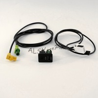 YIMIAOMO USB+AUX Switch Cable Harness Set For VW Scirocco Jetta Golf Tiguan GTI MK5 MK6 RCD510 RNS315 5KD 035 726 A